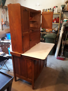 Antique Baking Cabinet
