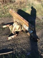 Tractor plow for sale! Good shape solid plow! Obo