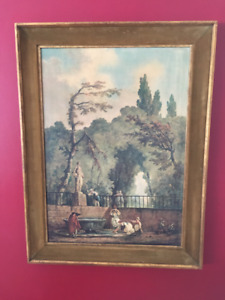 Hubert Robert framed prints