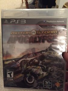 PS3 30$ with motor storm apocalypse new  Kingston Kingston Area image 2
