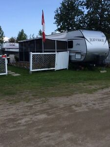 2014 Camper on seasonal lot, Candle Lake