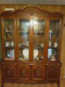 Table, Buffet and Hutch