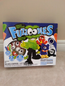 New in Box- Crazy Critters Fuzzoodles for Ages 5+