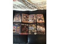 Collection of boxing & UFC DVDs - Tyson/Hatton