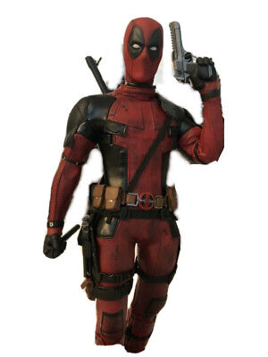 Deadpool Hot Toys Collectibles Movie Masterpiece Series. 1/6th Scale