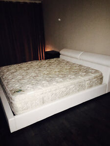 Moving sale! Stunning high end mattress and bed frame