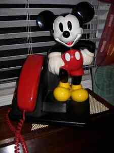 Collectible Mickey Mouse Home Phone