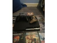 Ps3 with games 110ono