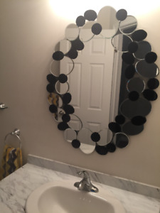Decorative mirror for sale (free pickup at oakville or hamilton)