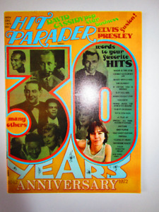 Magazine. HIT PARADER. 30 YEAR ANNIVERSARY.NM  1942-1972