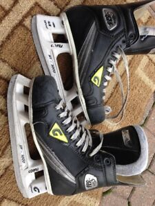 Hockey Skates and Figure Skates, used in all sizes & brands