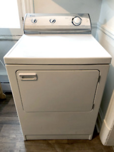 Moving sale! Dryer, range/stove & stainless steel bar fridge