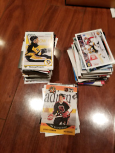 Miscellaneous hockey trading cards