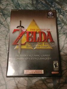 The legend of zelda collector's édition