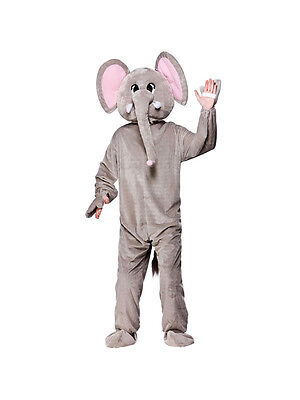 Adult Paradise Elephant Fancy Dress Mascot Animal Cold Play African Wild BN