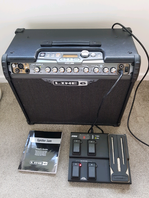 Line 6 spider jam and fbv express foot pedal | in Kilwinning, North  Ayrshire | Gumtree