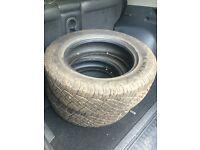 4 Toyota RAV4 tyres 225/65