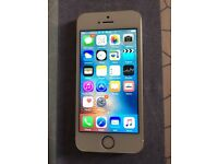 Apple iPhone 5s 16gb on Vodafone/ lebara/ talk talk