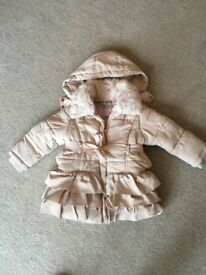 Girls bundle coat boots shoes approx 2-3 years