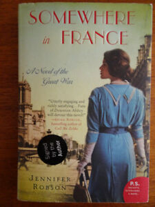 Somewhere in France by Jennifer Robson