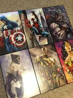 Marvel paintings