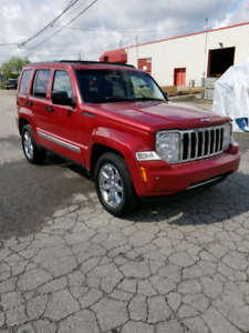 2008 Jeep Liberty Limited Edition SUV, Crossover Moonroof