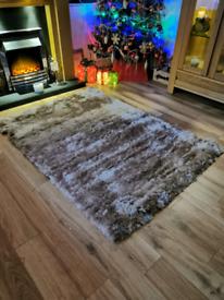 Mink coloured rug