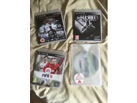 PS3 games inc COD BO 2,FIFA 15, FIFA 11, batman arkham asylum.