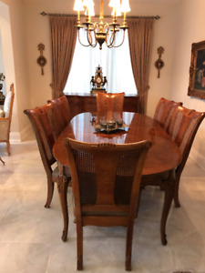 THOMASVILLE FRENCH DINING SET
