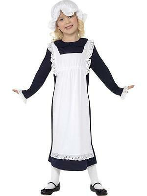 Child Victorian Costume (Victorian Historic Poor Girl Child Costume Medium)