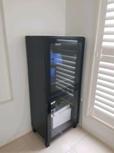 Two tv storage units