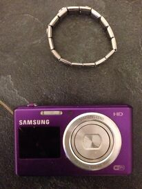 Samsung camera and charm bracelet for sale