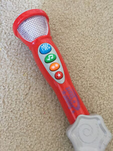 Vtech Super Star Microphone Cambridge Kitchener Area image 1