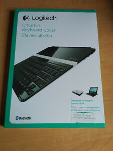 Logitech Ultra Thin Keyboard cover for iPad
