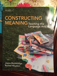 University Textbook: Constructing Meaning