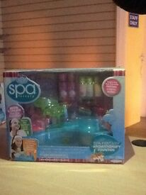 Spa Factory Aromatherapy Fountain with lots of accessories