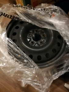 """4 x steel winter rims (17""""- 5 x 114.3) priced to sell"""