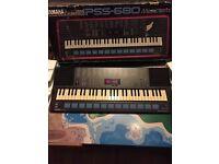Yamaha keyboard pss 680 vgc