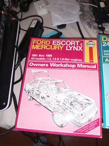 2 Haynes repair manuals