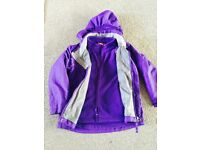 Girls Waterproof coat aged 5 years
