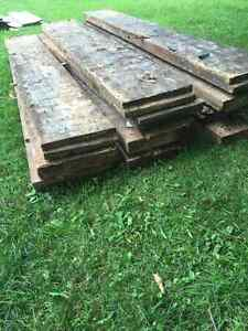210 year old planks