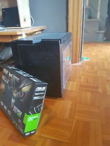 PC GAMER 8 CŒURS (8 X 4.0 GHZ) + GTX 4GB DDR5 + SSD + HDD + JEU