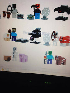 New minecraft stuff from stuffies to lego London Ontario image 4