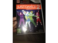 Wii game just dance 2