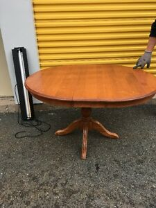 Pedestal Dining Room Table for SALE