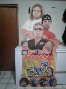 Cardboard cut out orange county choppers