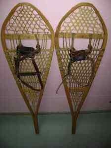 Raquettes à neige - snowshoes
