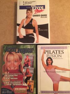 3 DVD exercices
