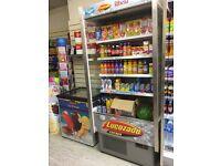 Open shop fridge
