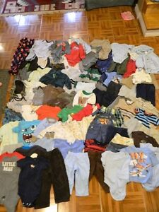 Boy Mixed 6-12 Month Lot 80 items!!